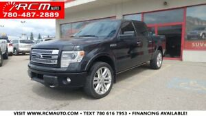 2013 Ford F-150 LIMITED 4x4 LEATHER NAVIGATION SUPERCREW
