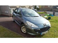 PEUGEOT 307 AUTOMATIC VERY LOW MILEAGE NEW M.O.T SERVICE AND CAMBELT