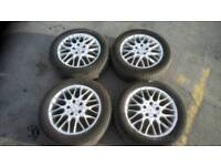 """Mercedes 16"""" Inch Multi Spoke Alloy Wheels and Tyres"""