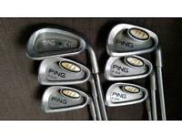 PING i3 Irons and PING Eye2 iron