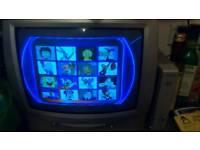 Tv dvd combi with Sony dvb free view box