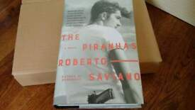 Brand New The Piranhas by Robert Saviano. Hardcover retail price 14.99