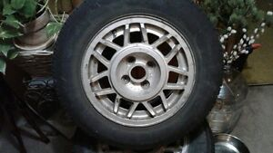 "VW ""Montreal"" 14 inch rims and winter tires West Island Greater Montréal image 4"