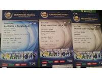 Cricket Ticket - Trophy ICC Champions - First semi-final (A1 v B2)