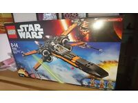 LEGO Star Wars 75102 Poe's X-Wing Fighter - brand new