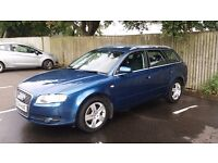 Audi A4 Avant 2.0L petrol 102000 miles £3095 ono