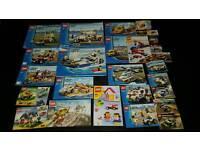 Large job lot of lego sets including figures