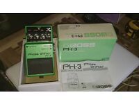 Boss PH-3 Phase Shifter Pedal Boxed with Manual