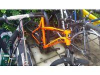 Mountain bike frame