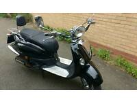 Lexmoto Valencia 50cc moped is now sold.....sorry