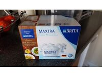 Brita 4 pack filter and Brita aluna 2.4litre used jug