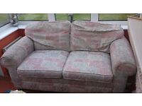 FREE Sofa Bed - some wear on the arms - bed only use a couple of times