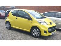 59 REG PEUGEOT 107 * ONLY 68K* GENUINE MILEAGE * PX WELCOME