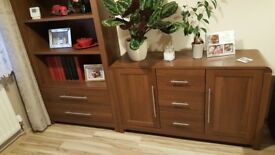 Living Room Furniture set - TV unit, sideboard and bookcase