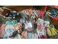Mostly next baby clothes