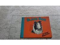 Black Bob the Wonder Dog. An original 1955 illustrated comic book of the adventures of Black Bob.