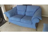 EX DFS DESIGNER SOFA,ONLY £35, LOVELY COLOUR( NOT REALLY AS IN PICS), EXPENSIVE WHEN NEW,