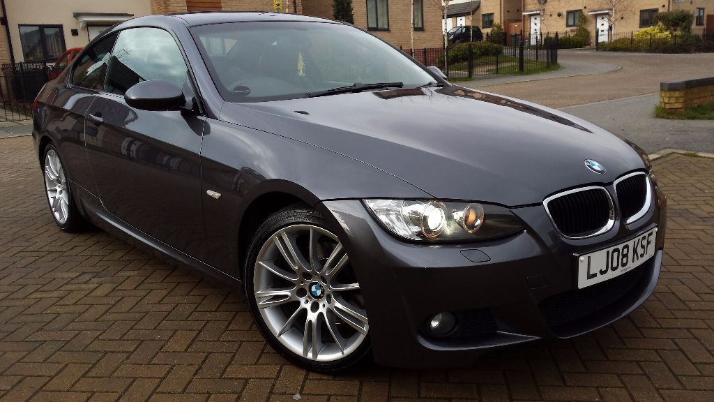 2008 bmw 320d auto m sport coupe 95k full bmw service history in leeds city centre west. Black Bedroom Furniture Sets. Home Design Ideas