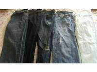 5 pairs off size 14 jeans