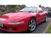 MITSUBISHI 3000GT TWIN TURBO 4WD 4WS MANUAL 65K FSH very clean car