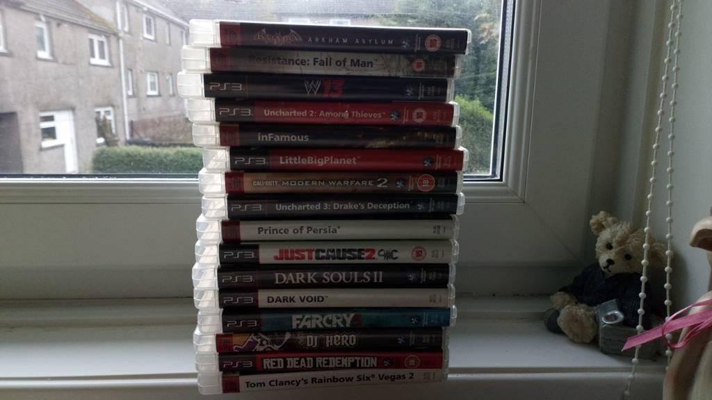 PS3 games (bundle)