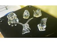 Glass Ornaments/figurines