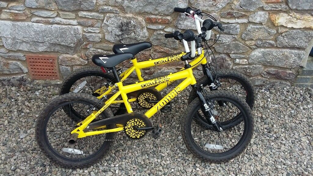 8fada0a6a6f63 Pair boys bikes 18 inch wheels 6 to 8 years (will sell separately) . Great  condition