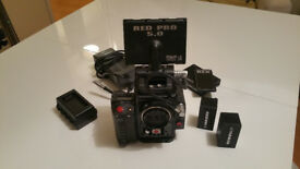 RED SCARLET X - LIKE NEW, 49 hours use.
