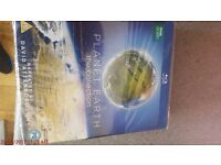 blu ray - planet earth dvd collection sealed