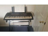 Yamaha PSR-180 keyboard with 61 full size keys - ideal Christmas present!