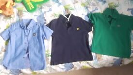 Genuine Lyle & Scott & Lacoste polo shirts/shirt