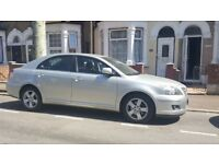 toyota avensis diesel car for sale only 61500 miles