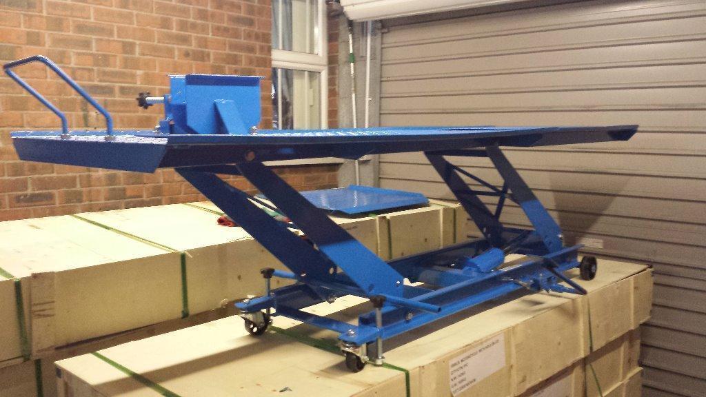 Heavy Duty Hydraulic Lifts : Brand new hydraulic motorcycle lift heavy duty