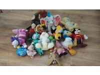 Bundle of character soft toys