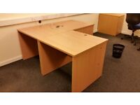 office computer desk single size well built multiple available