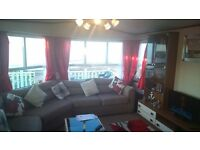 Caravan to rent hire Berwick upon Tweed Sea view CH DG