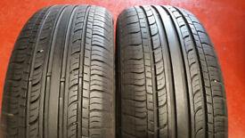 205 55 16 2 x tyres Jinyu YH12