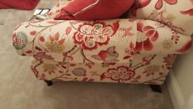 Sofa Workshop. Floral cottage style sofa