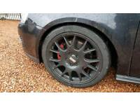 18 inch genuine bbs alloys just refurbished with brand new tyres swap silver18 or 19 2006 golf