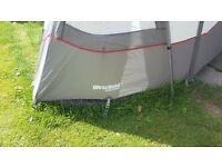 Westfield lightweight awning 2 years old. Used approx 6 times. As good a new. Bargain to be had.
