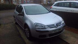 2007 1.4 S VW Golf, MOT, Low miles*LOVELY CLEAN CAR* (similar: seat, vauxhall, skoda, audi, peugeot)