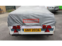TRIGANO TRAILER TENT FOR SALE ONO price reduced *make an offer* need the space