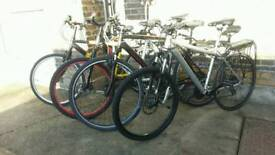 Job Lot Of Bicycles - All Working - Grab A Bargain!