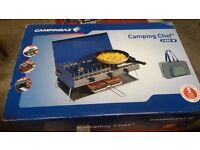 Campingaz Camping chef 5800w new in box camp cooker with grill