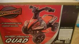 Kids 6v quad electric new