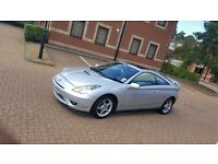 TOYOTA CELICA SPORT LEATHER SEATS SILVER COUPE
