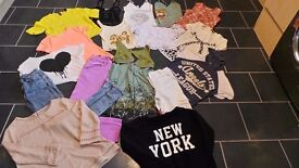 Size 6-8 clothes bundle!! £5!! All good quality brands! MOSCHINO TOMMY HILFIGER D&G