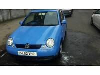 Price drop 550.Vw lupo swap for somthing bigger or cash
