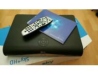 Sky HD with remote and manual