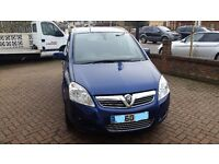 Genuine Low Mileage- 7 SEATER DIESEL - Vauxhall Zafira Design 1.7 Ecoflex
